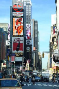 50 Songs ~ Times Square billboard